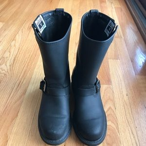 Frye Leather Black Boots Size 8.5. Like New